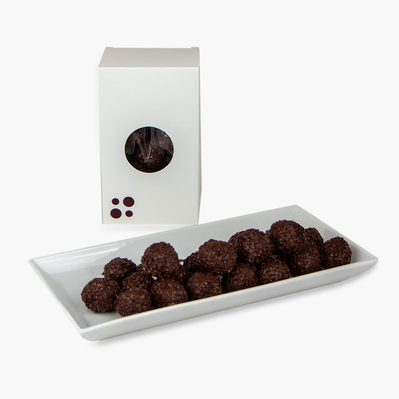 raspberry truffles 200g