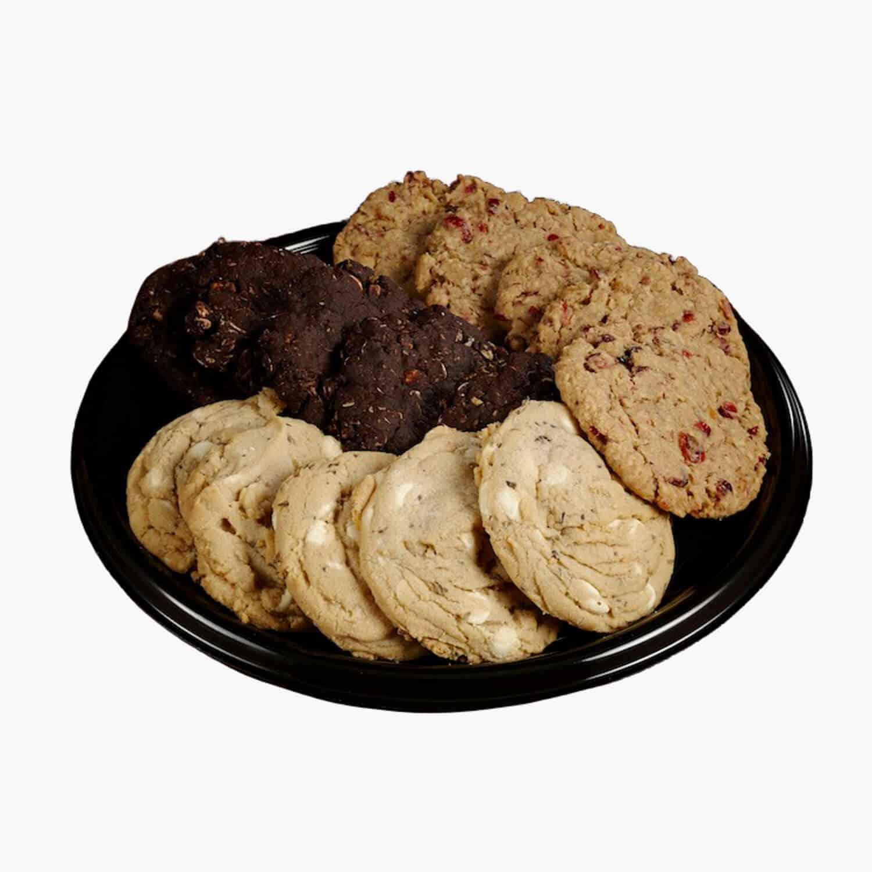 assorted cookies platter