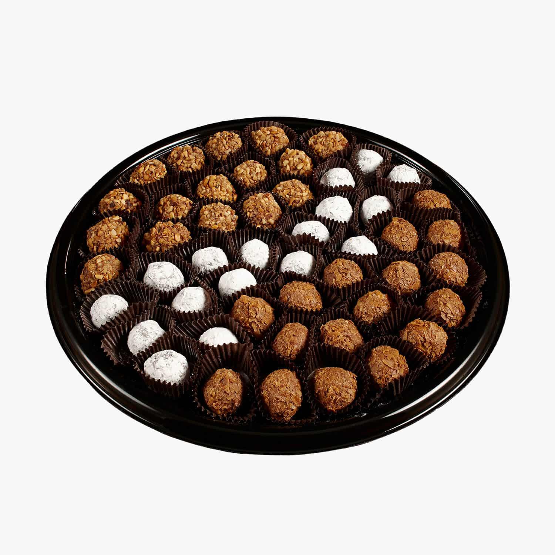 assorted truffles platter