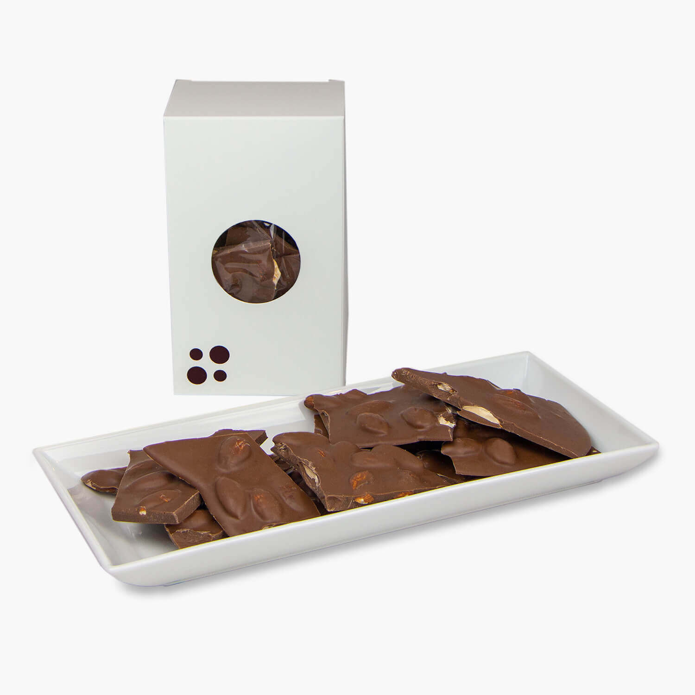 milk chocolate almond bark