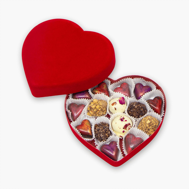 15 piece heart box