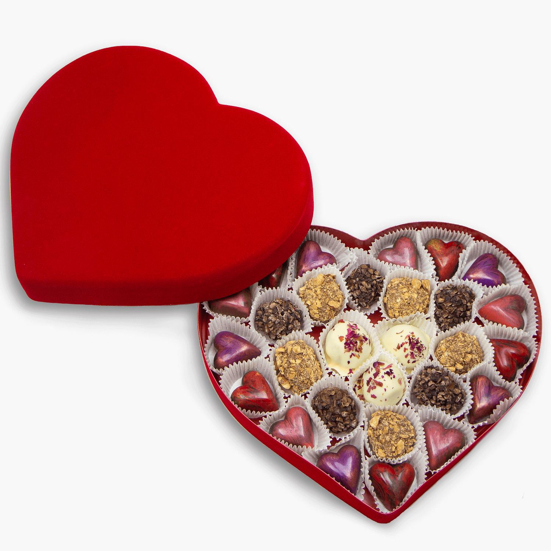 28 piece heart